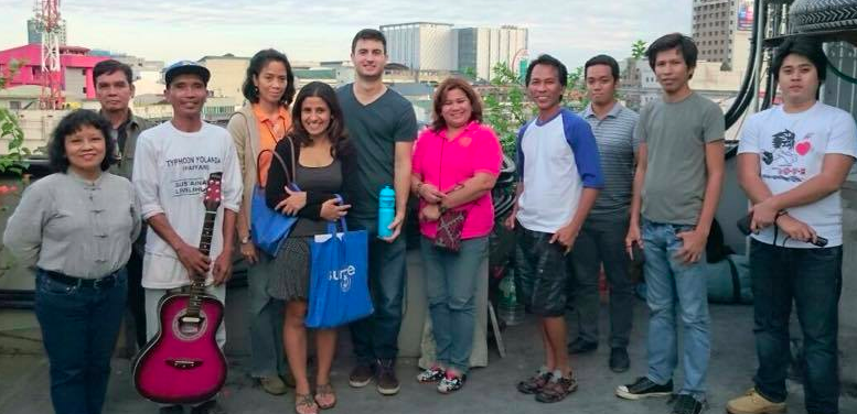 The PCWS team in Manila