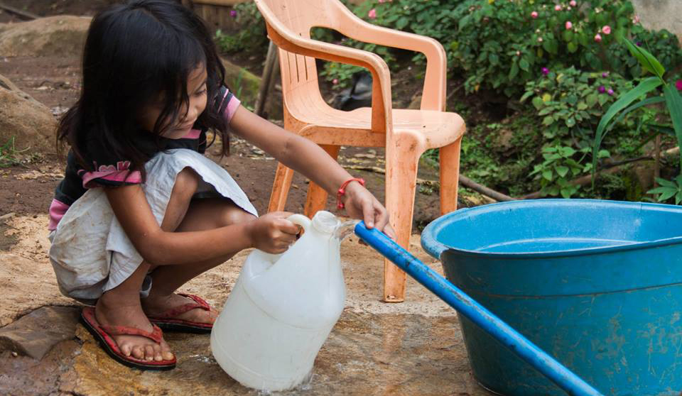 Access to clean water, thanks to the partnership between BSF Philippines and Surge for Water.