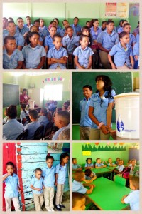 WASH training in schools